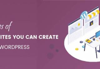 Types of Websites You Can Create With WordPress 01