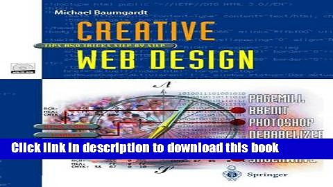 Read Pdf Creative Web Design Tips And Tricks Step By