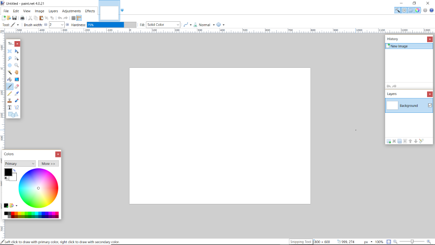 Paint Net A Free And Simple Photoshop Alternative For Windows Web Design Tips