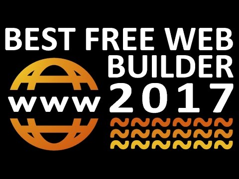 Best free website builder 2017 unlimited free web for Builders unlimited