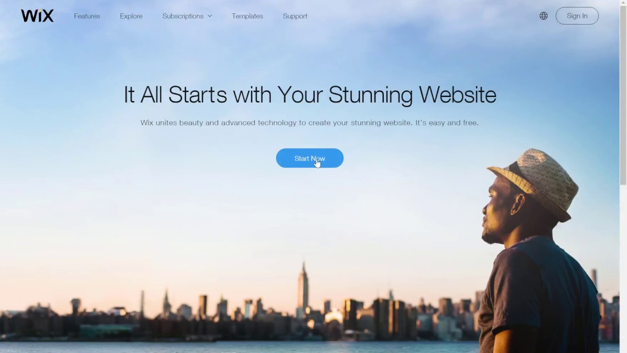 wix website tutorial create a website with wix link below for new wix video august 2017 update