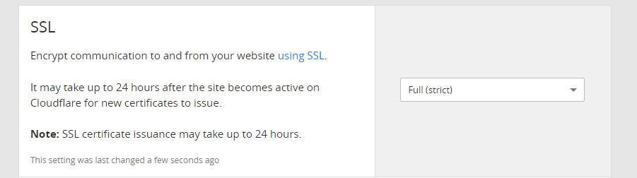 Adjust your Cloudflare SSL settings.