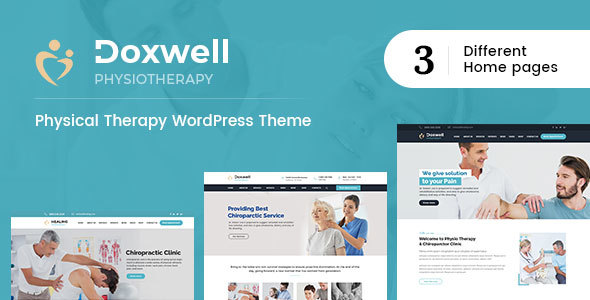 Doxwell : Physical Therapy WordPress Theme - Web Design Tips