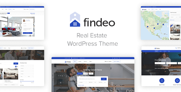Findeo - Real Estate WordPress Theme