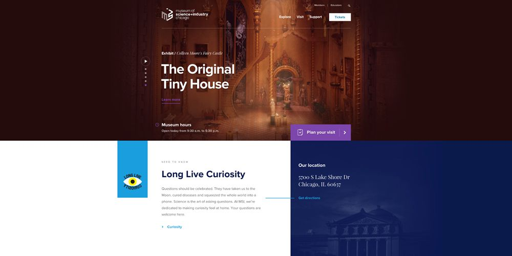 Beautiful Examples of Motion Design in Web Design - Web