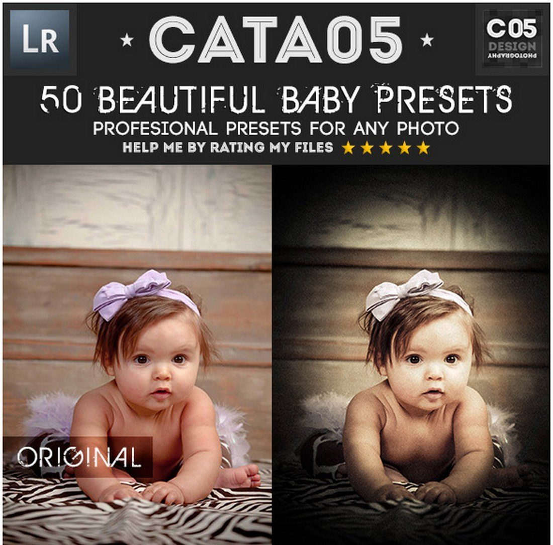 20 Best Newborn Lightroom Presets for Baby Photography - Web