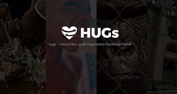 8 Hugs non-profit WordPress theme