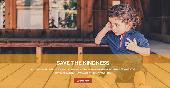 17 ARISEN non-profit WordPress theme