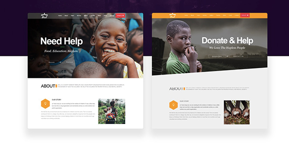 24 Heal ngo WordPress theme