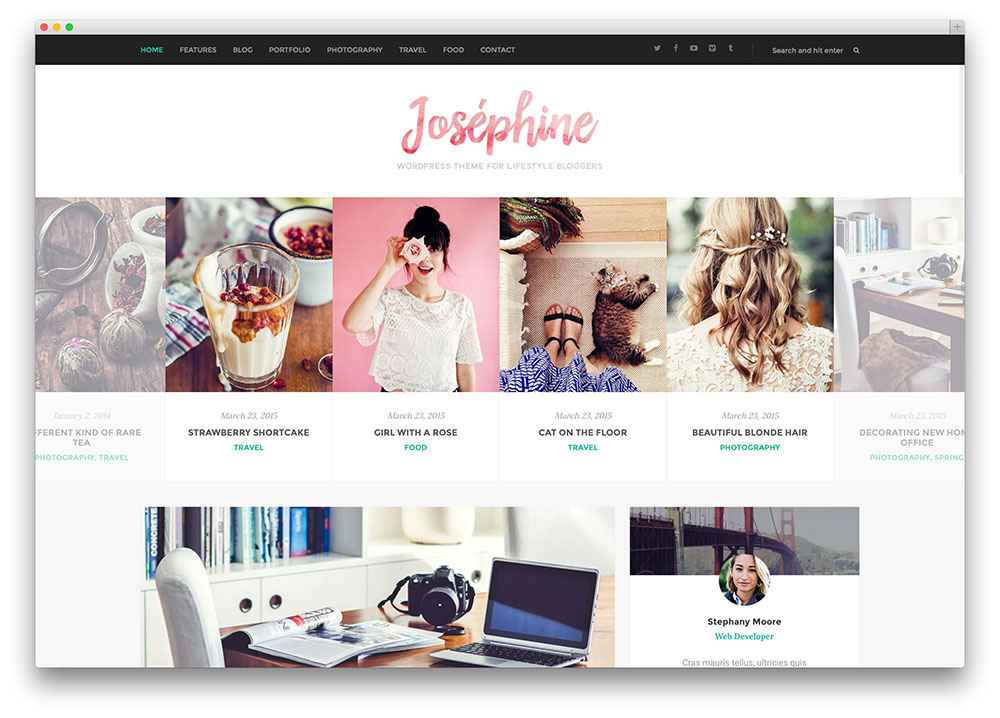 40 Best Blog Wordpress Themes For Corporate Personal Fashion