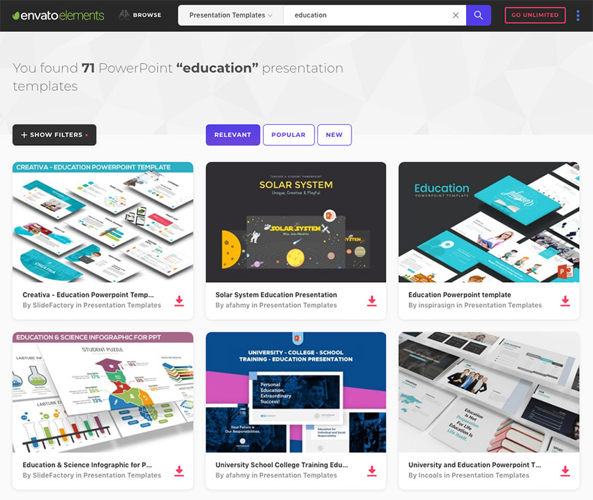 The Best 8 Free Powerpoint Templates: 15+ Education PowerPoint Templates