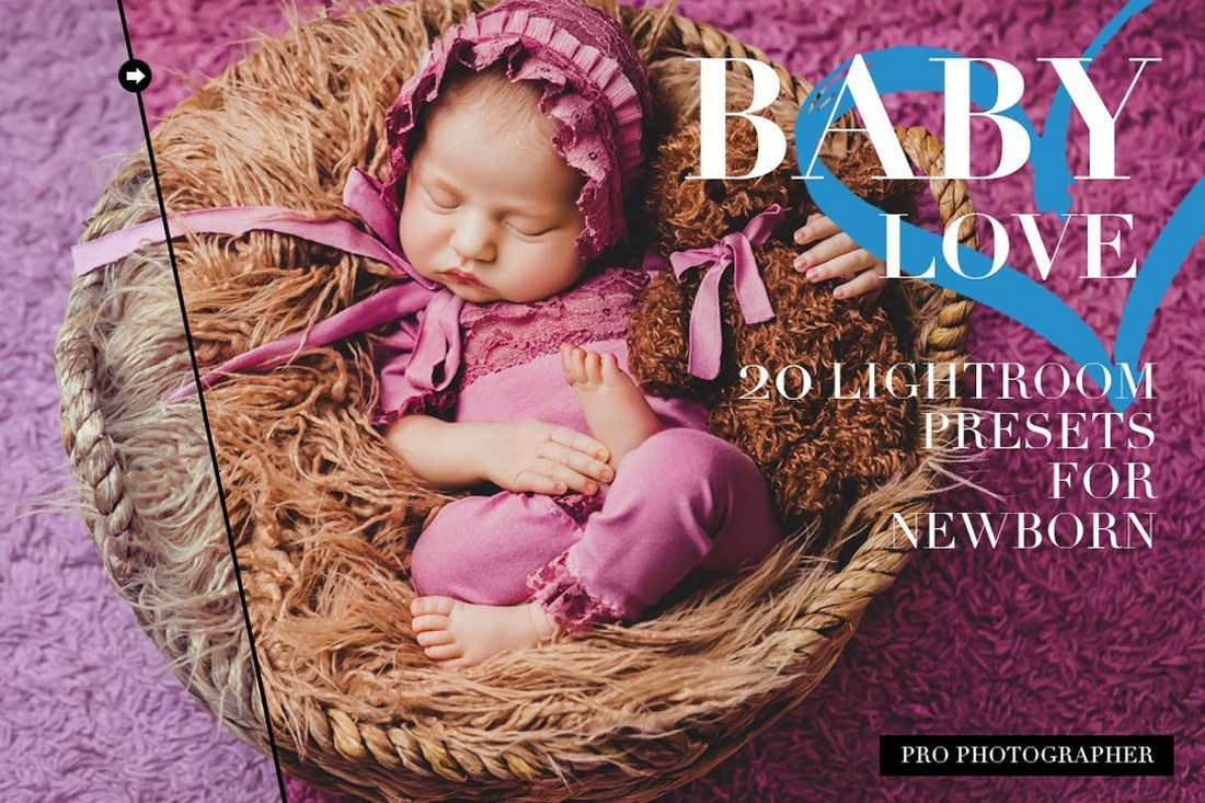 20 best newborn lightroom presets for baby photography
