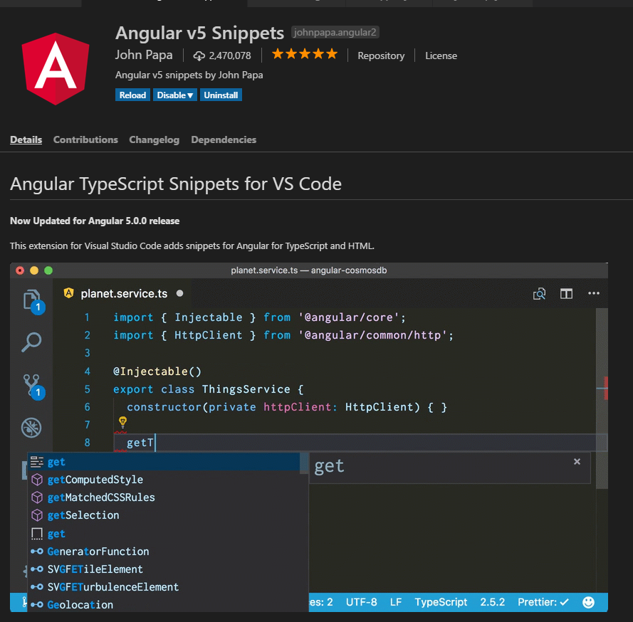 Boosting Your Workflow with Angular 5 Snippets and VS Code
