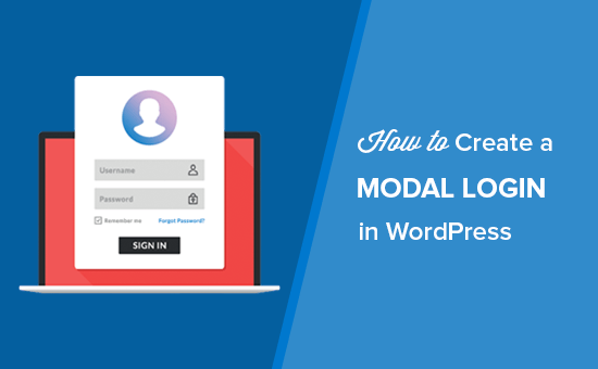 How To Create A Wordpress Login Popup Modal Step By Step Web Design Tips