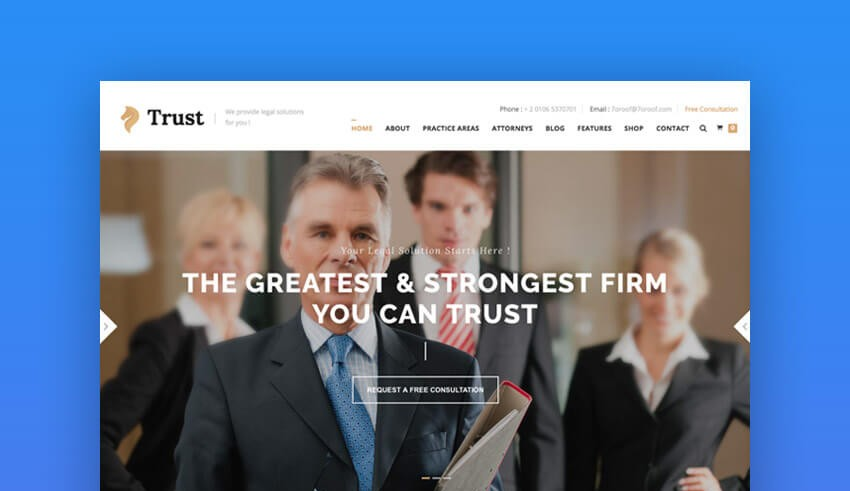15 top responsive html lawyer law firm website templates web