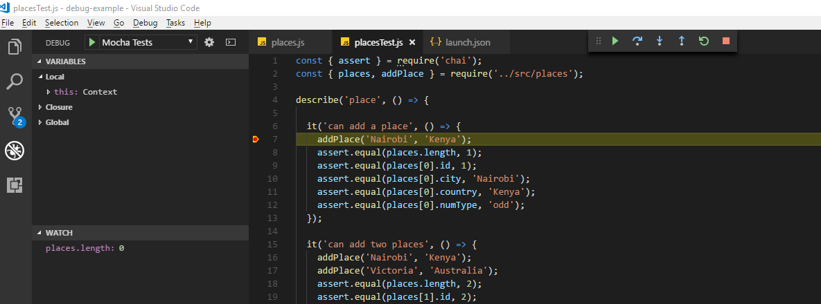 Debugging JavaScript Projects with VS Code & Chrome Debugger