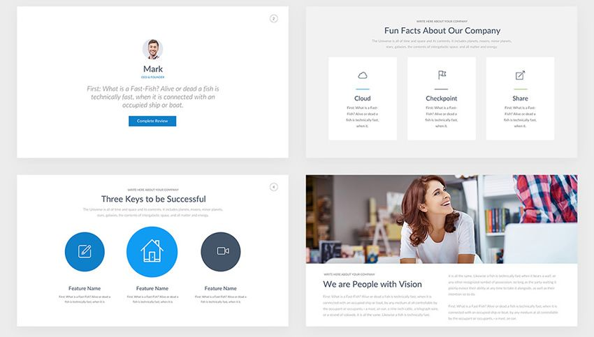 Professional Pitch Deck free keynote templates creative designer