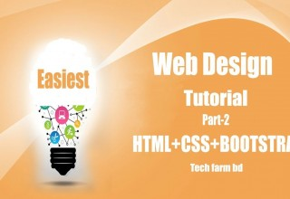 Basic Web Design with HTML CSS Bootstrap Tutorial Part 2