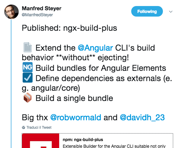 How to build custom elements with Angular CLI - Web Design Tips