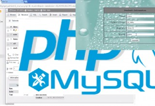 How to Insert Data Into Database from a Form PHP MySql Tutorial for Beginners