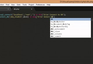 PHP and Mysql select insert update and delete Part1