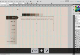 Photoshop tutorial part2 how to design a professional website mock up in photoshop cs5