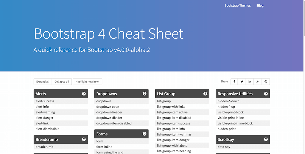 18 Resources for Bootstrap 4 – Getting Started With The