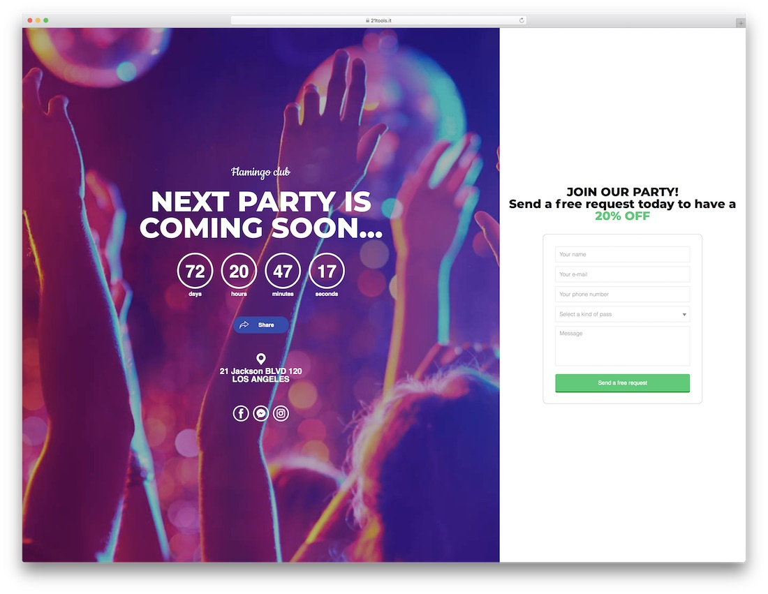 Coming Soon Website Template | 22 Best Coming Soon Html5 Website Templates For Maintenance And