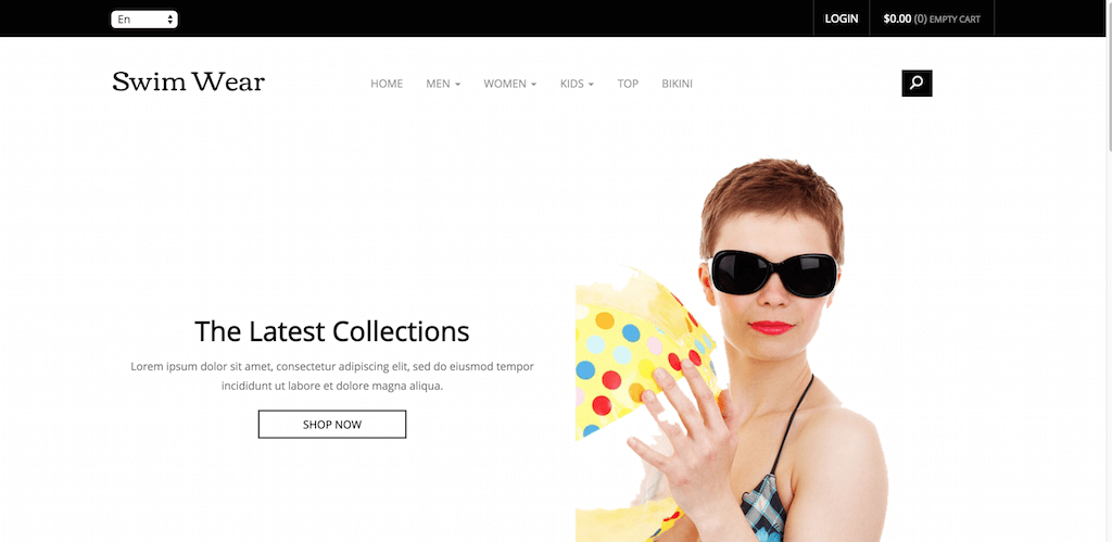 Swim Wear a E Commerce online Shopping Category Flat Bootstrap Responsive Website Template Home w3layouts