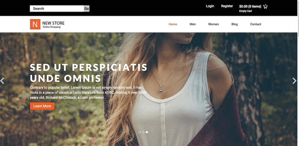 New Store A Ecommerce Category Flat Bootstrap Responsive Website Template Home w3layouts