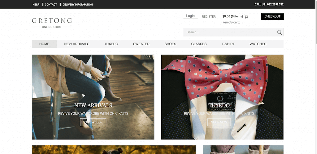 Gretong a Ecommerce Category Flat Bootstrap Responsive Website Template Home w3layouts