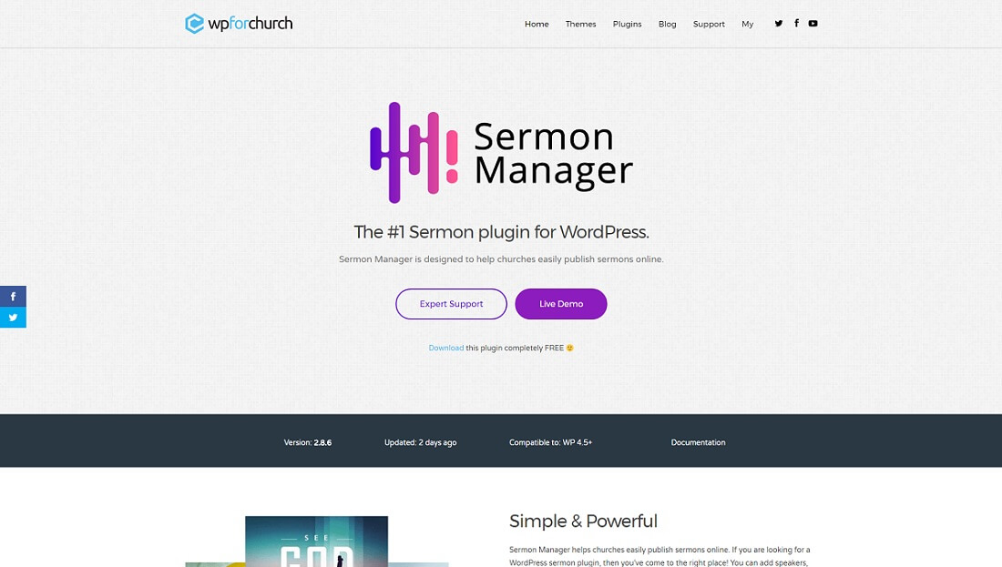 sermon manager for wordpress
