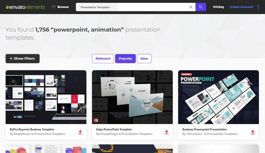16 best free animated powerpoint templates with cool slides web 16 best free animated powerpoint templates with cool slides toneelgroepblik Choice Image