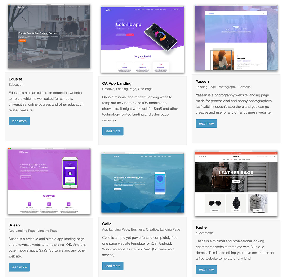 31 top free bootstrap 4 website templates 2018