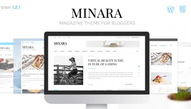 Minara - WordPress Magazine Theme for Bloggers