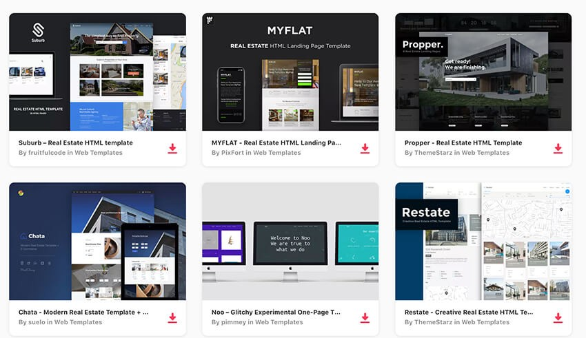 20 Best Real Estate Landing Page Examples 2018 Templates Web Design Tips