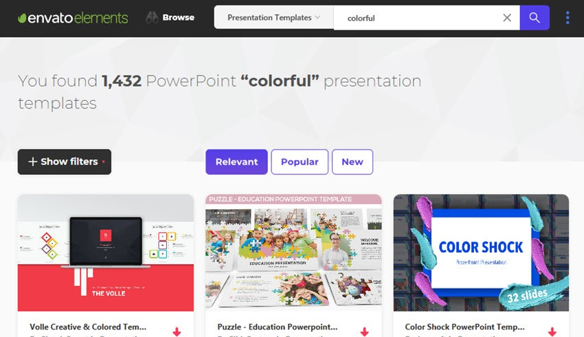 20 Fun Powerpoint Templates With Colorful Slide Designs For 2018