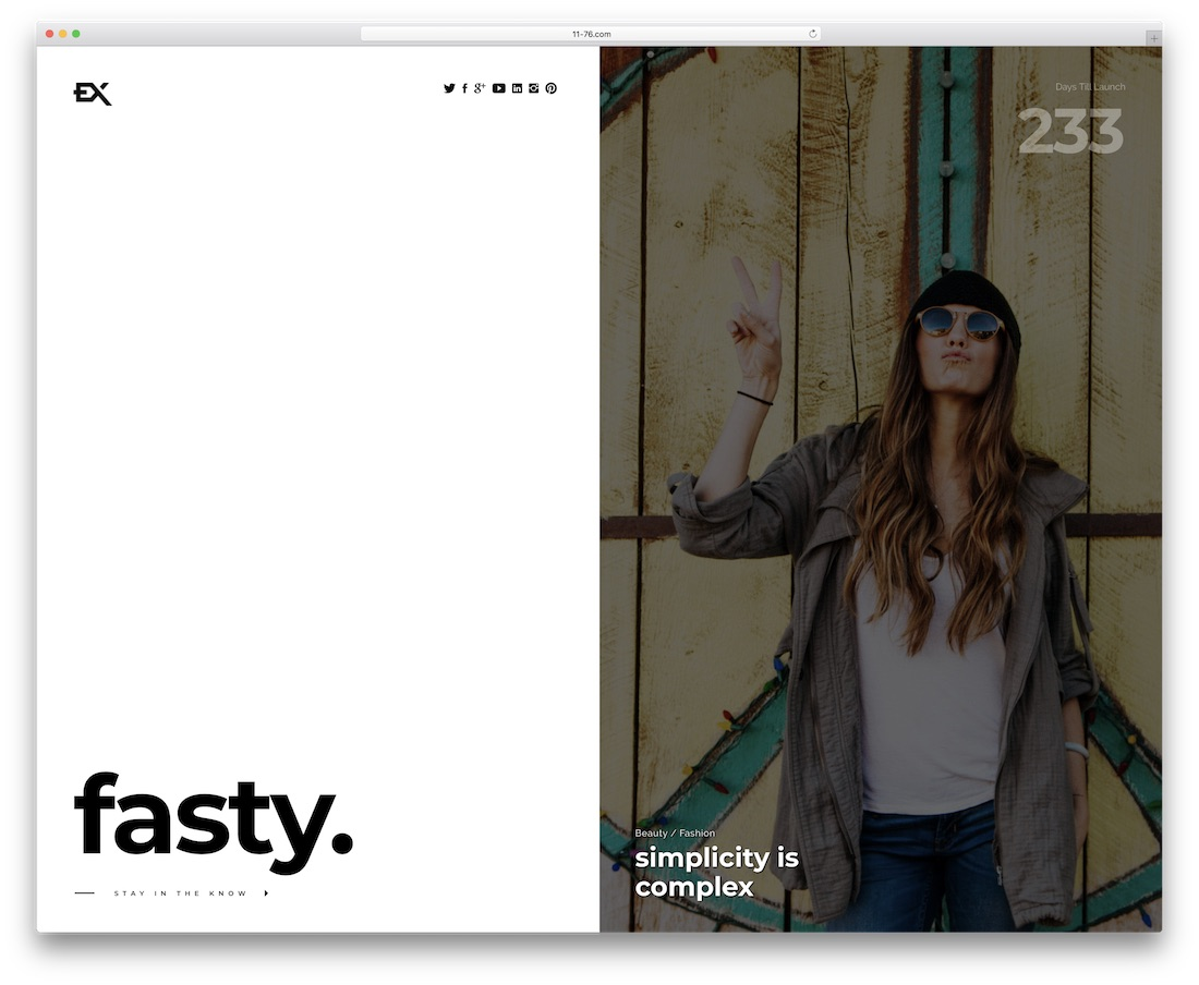 fasty coming soon template