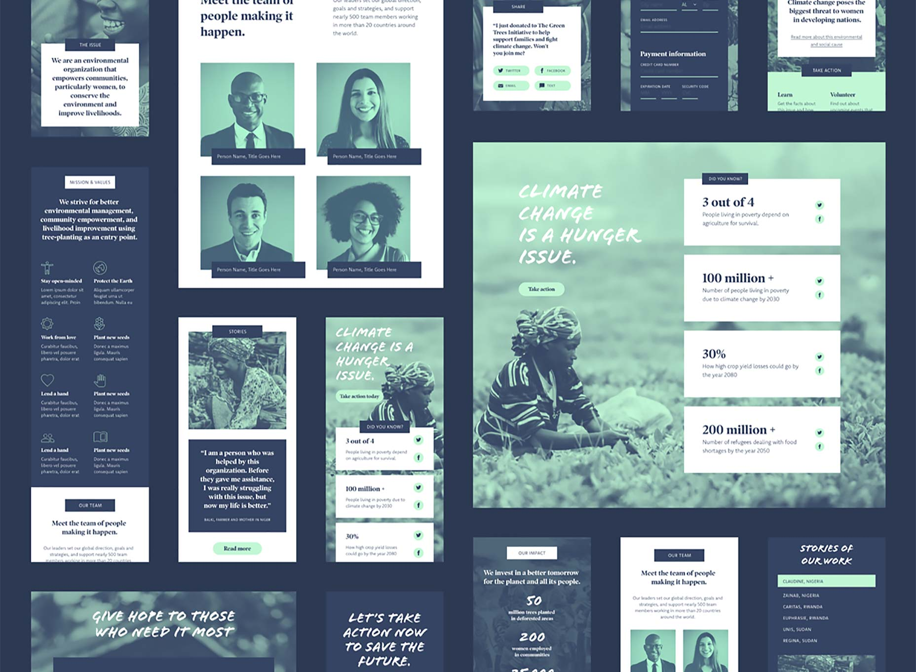 Free Download: Non-Profit UI Kit for Adobe XD - Web Design Tips
