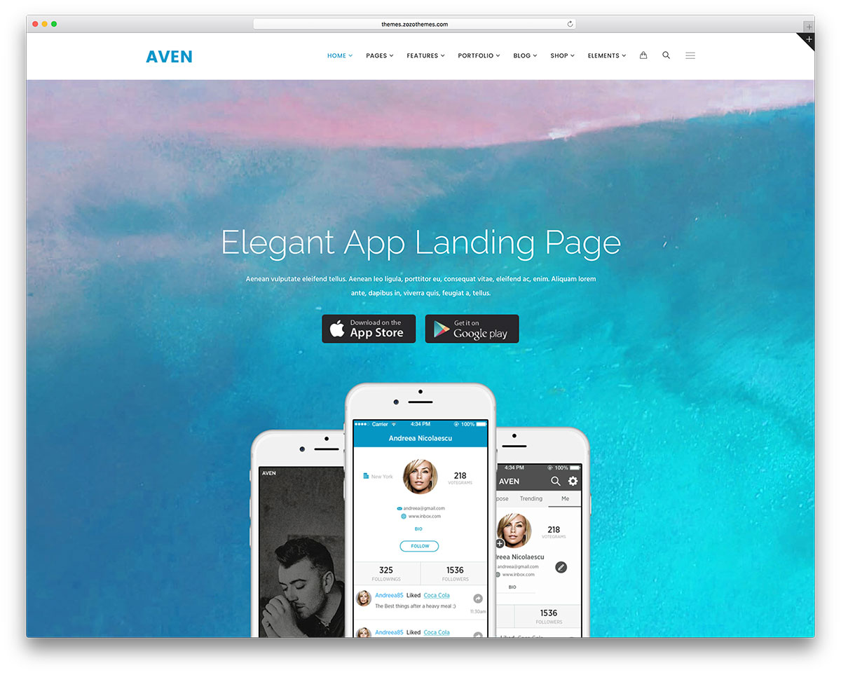 40 Best Landing Page Wordpress Themes For Apps Products Services
