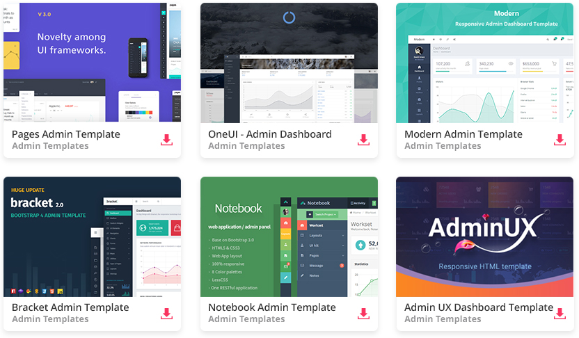 34 Free Bootstrap Admin Dashboard Templates For Your Web App