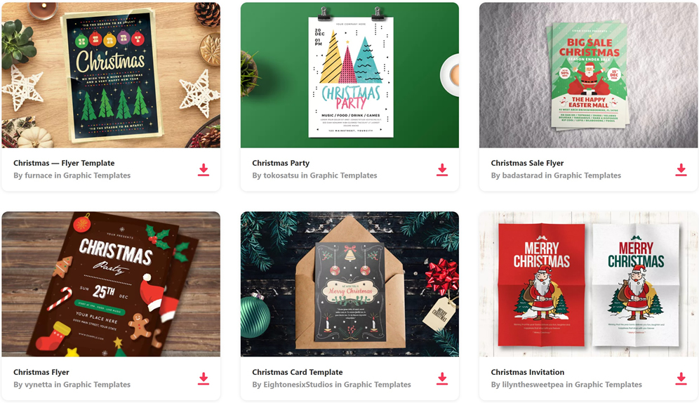 50 Free Christmas Templates & Resources for Designers - Web Design Tips