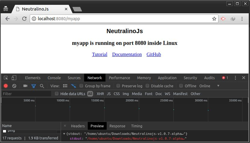 Neutralinojs vs Electron vs Nw js - see the results - Web