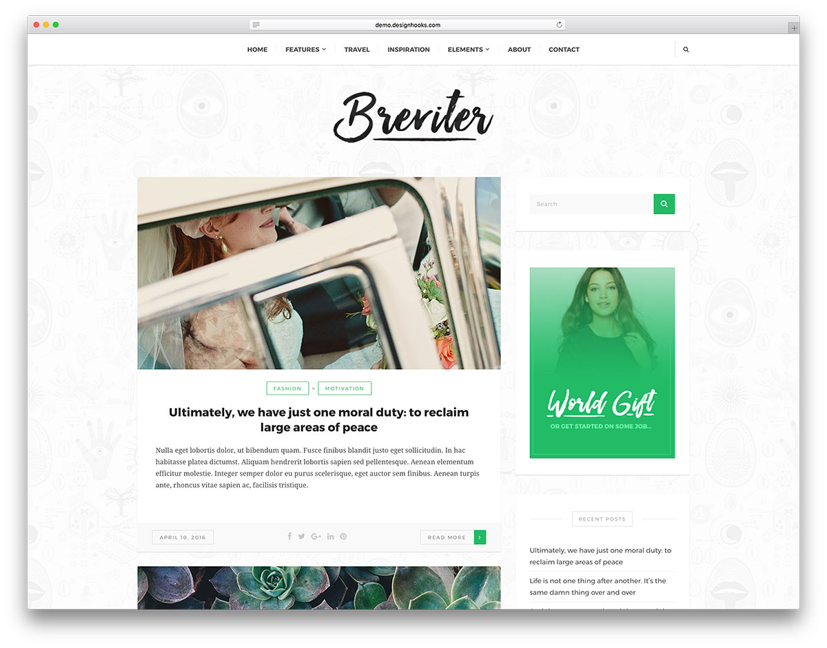 50 Beautiful Free Wordpress Themes To Build Awesome Websites 2018