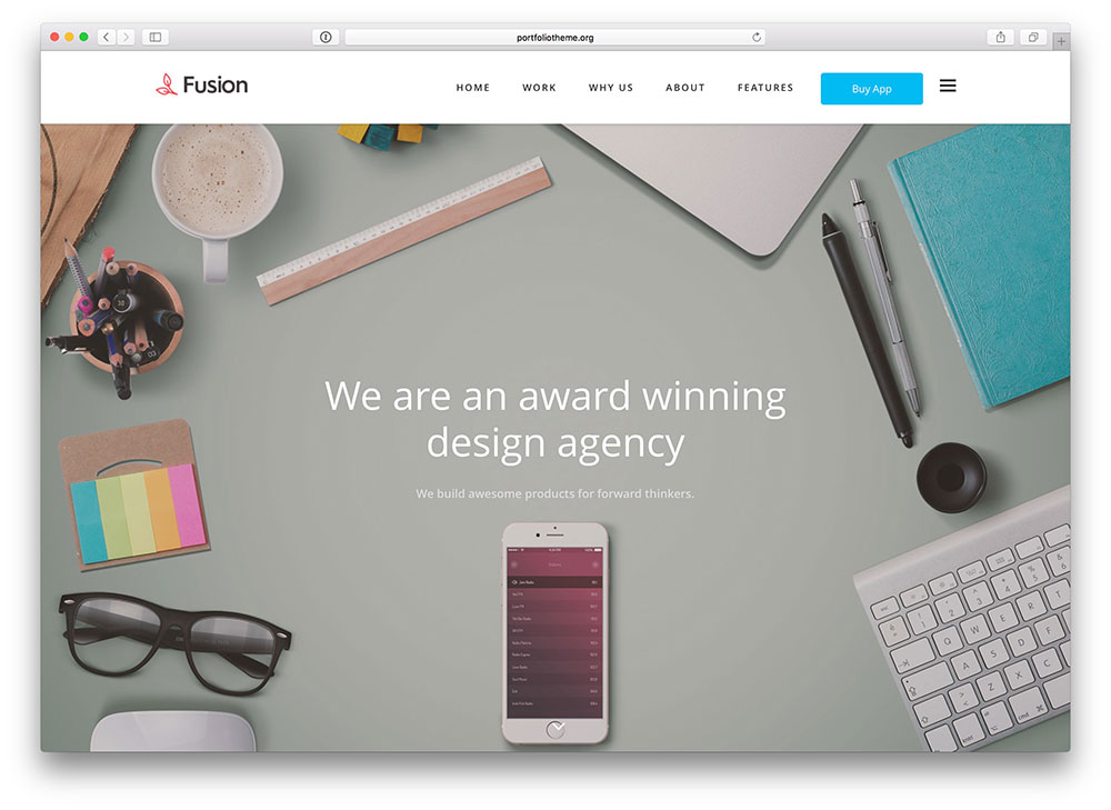 22 Brilliant WordPress Themes for Graphic, Web, Product, Game and