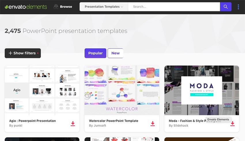 20 Best Powerpoint Slide Design Templates Ppts For 2019 Web