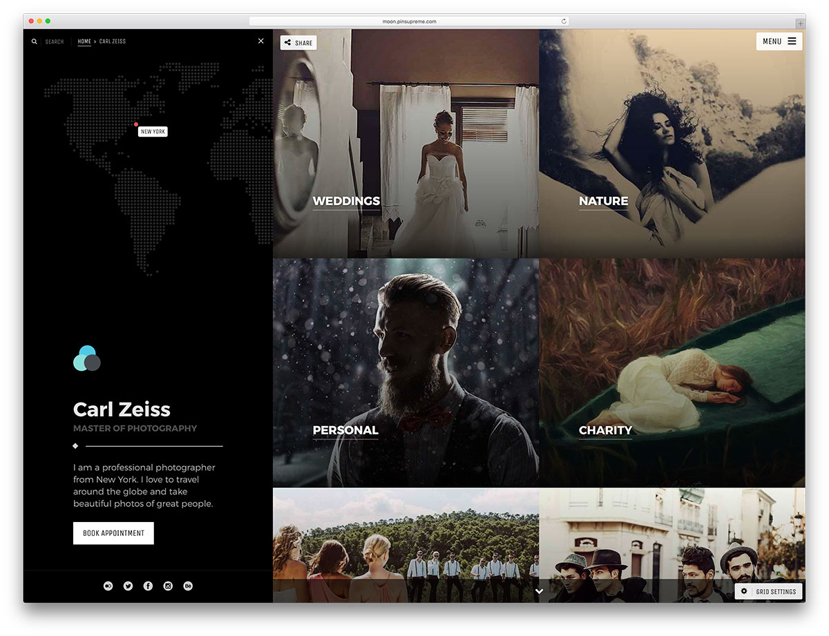 25 Marvelous WordPress Photography Blog Themes For Hobby and