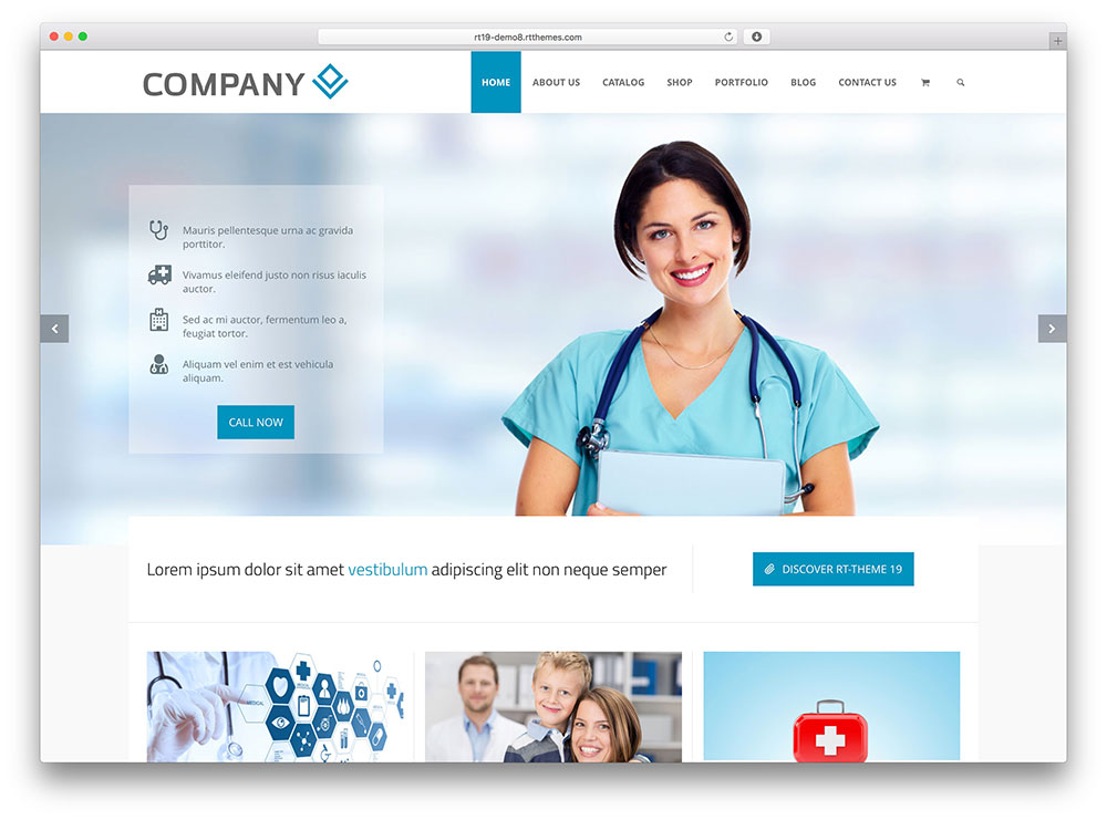 35 best health and medical wordpress themes for hospitals  doctors  clinics  u0026 blogs 2019