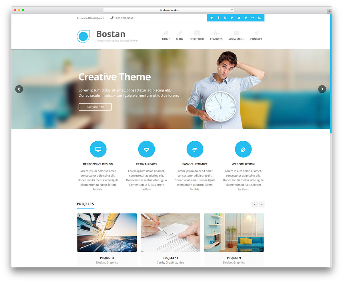 50 Best WordPress Corporate Business Themes Of 2019 For