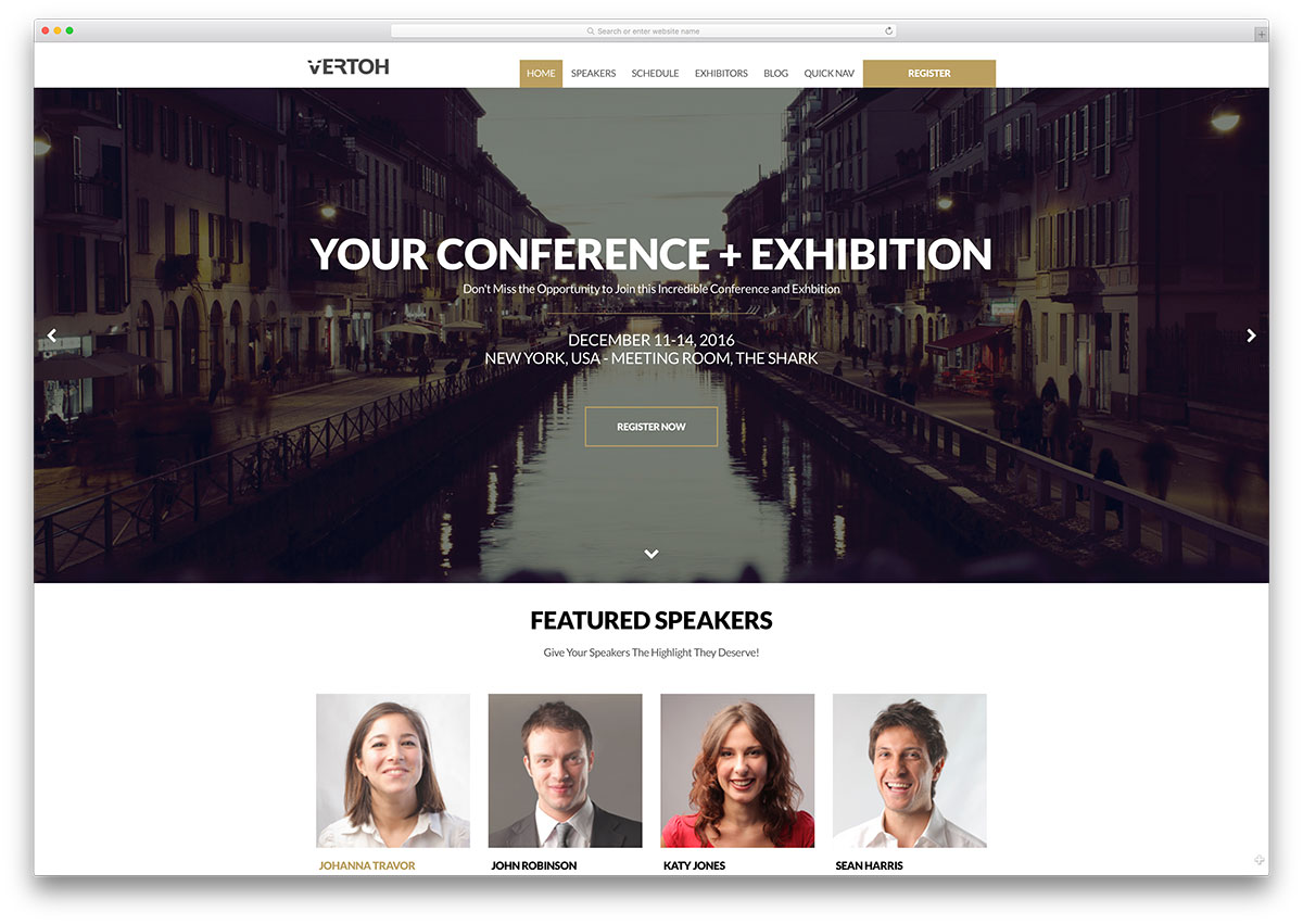 30+ Awesome WordPress Themes for Conference and Event Management